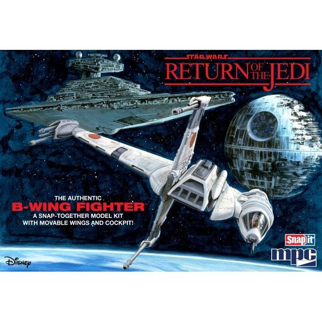 MPC 1:144 Star Wars: Return of the Jedi B-Wing Fighter (SNAP Kit) Model Kit