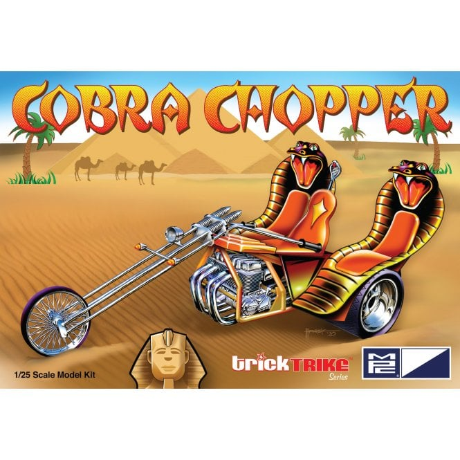 MPC 1:25 Cobra Chopper - Trick Trikes Series Model Kit