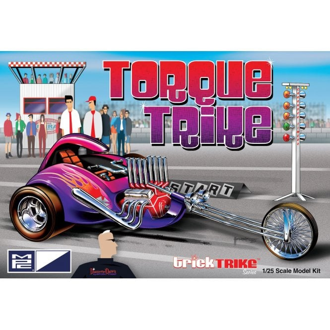 MPC 1:25 Torque Trike - Trick Trikes Series Model Kit