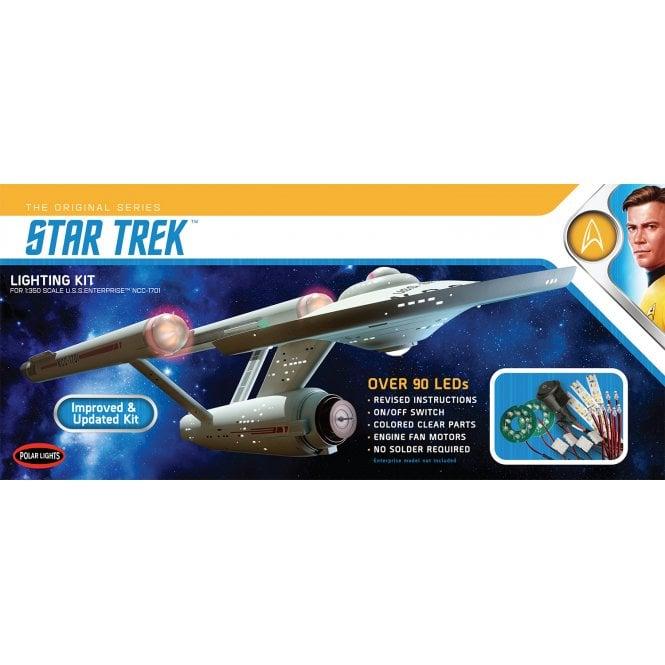 Polar Lights 1:350 Star Trek: TOS U.S.S. Enterprise Light Kit (Updated Version)