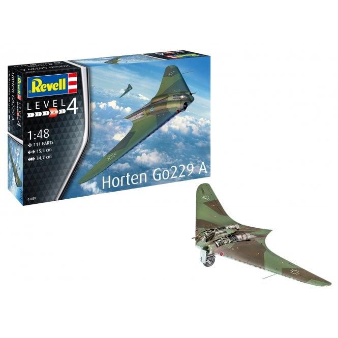 Revell 1:48 Horten Go229 A-1 Flying Wing Aircraft Model Kit