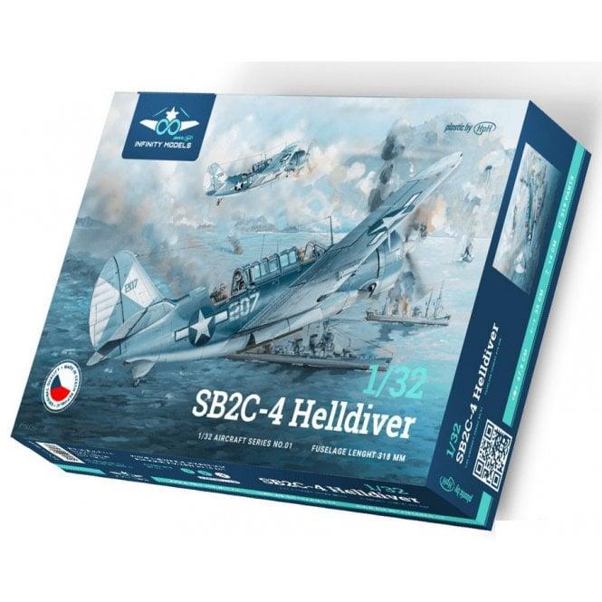 Infinity Models 1:32 SB2C-4 Helldiver Aircraft Model Kit
