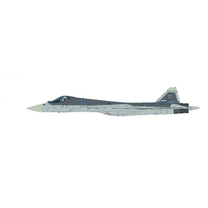 Hobby Master 1:72 Su-57 Stealth Fighter (T-50-6-2) Bort 056, Russian Air Force, 2016
