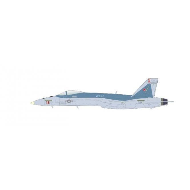 "Hobby Master 1:72 F/A-18E ""Mako"" Red 12, VFC-12, NAS Oceana, June 2021"