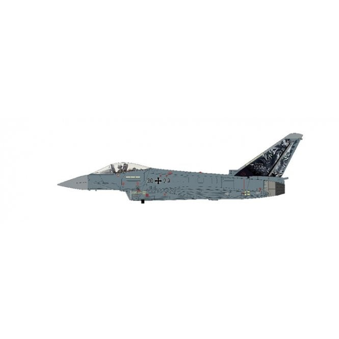 "Hobby Master 1:72 Eurofighter Typhoon ""Bavarian Tigers"" 30+29, JG 74, Neurburg Air Base, 2013"