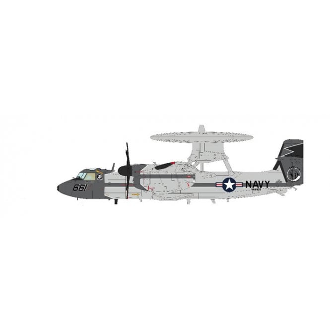 Hobby Master 1:72 E-2C Hawkeye 166503, VAW-120, US NAVY, 2010 (with special color box)