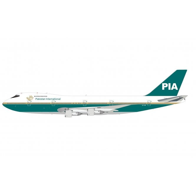 InFlight 200 Boeing B747-200 PIA Pakistan Reg - AP-AYW - 1:200 Scale