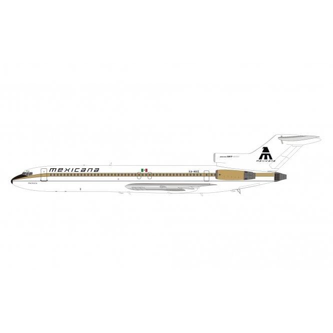 InFlight 200 Boeing 727-200 Mexicana (Gold Stripe) Reg - XA-MXE - 1:200 Scale