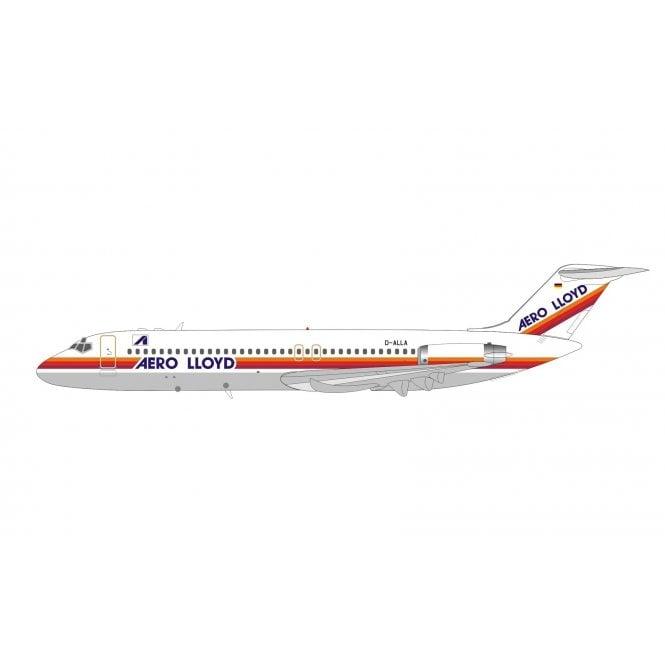 InFlight 200 Mcdonnell Douglas DC-9-32 Aero Lloyd - Reg D-ALLA - 1:200 Scale