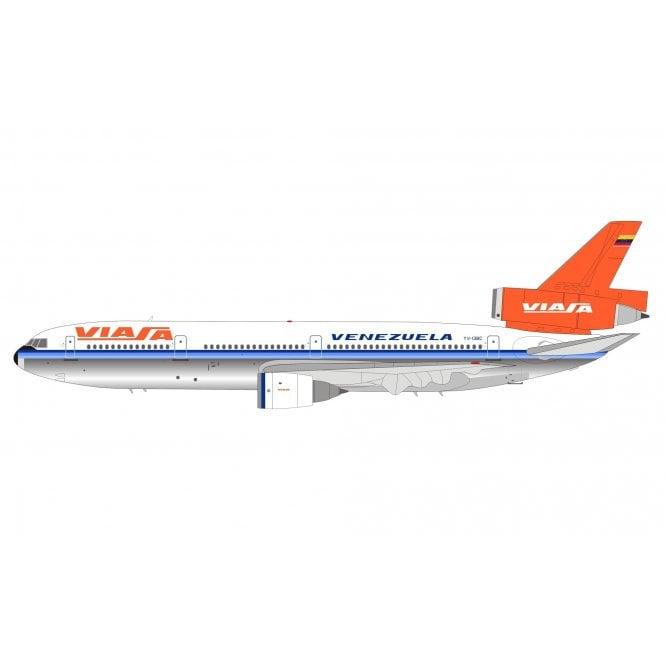 InFlight 200 Mcdonnell Douglas DC-10-30 Viasa (Polished) - Reg YV-138C - 1:200 Scale
