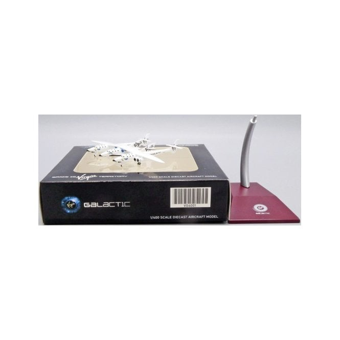 JC Wings 1:400 Composites 348 Virgin Galactic White Knight II (Old Livery) - Reg N348MS