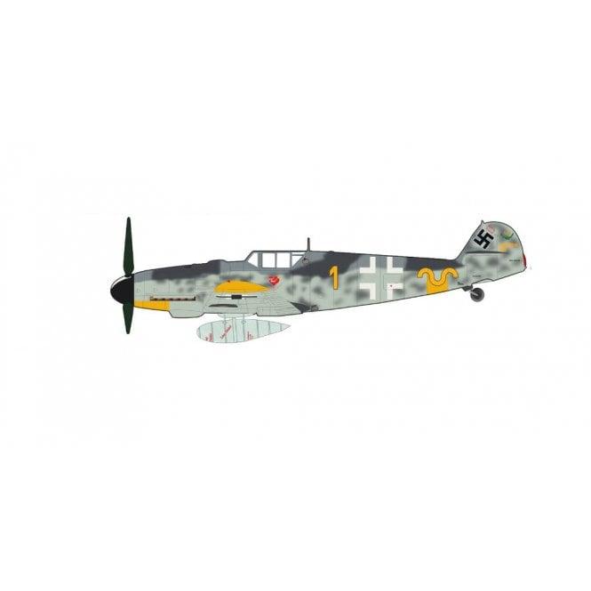 Hobby Master 1:48 Messerschmitt BF 109G-6 Erich Hartmann Yellow 1, W.Nr. 20499, 9./JG 52, Oct 1943
