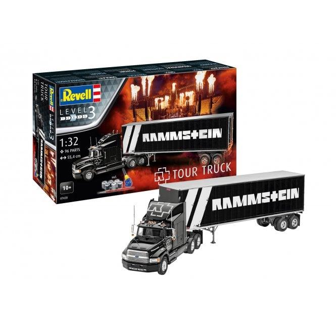 """Revell 1:32 Gift Set """"Rammstein"""" Tour Truck Model Kit"""