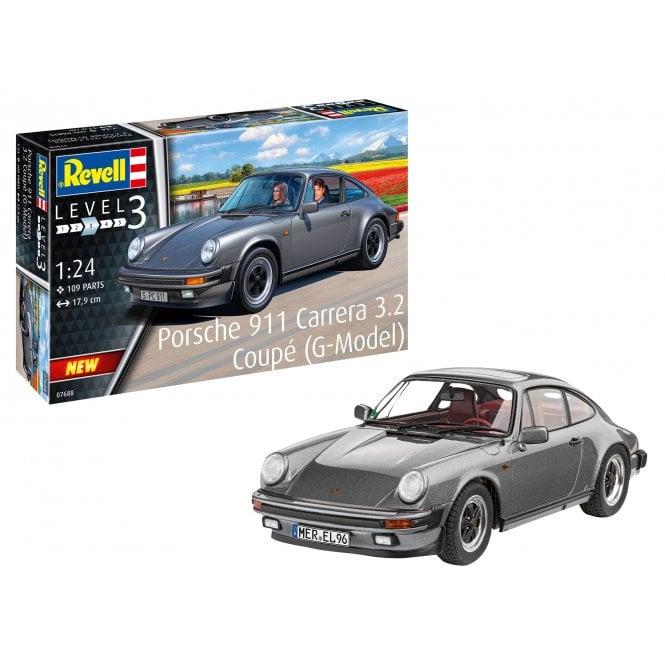 Revell 1:24 Porsche 911 G Model Coupé Car Model Kit