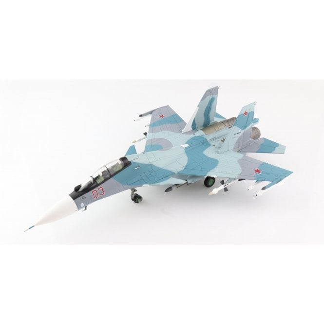 Hobby Master 1:72 Su-30SM Flanker C Red 03, 31st Fighter Aviation Regiment, Russian Air Force, 2015 ' NEW TOOLING '