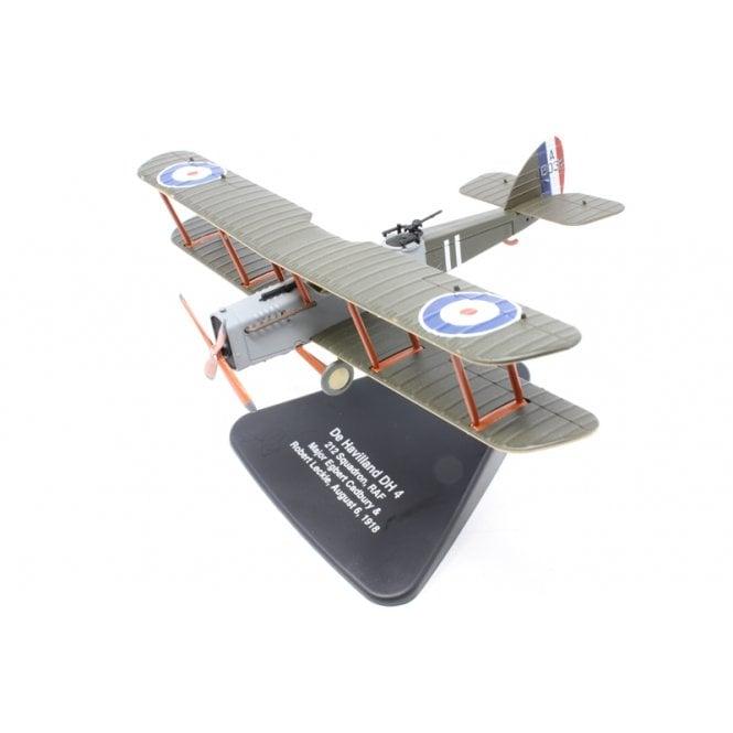 Oxford Diecast 1:72 De Havilland DH4 212 Sqn RAF Maj Egbert Cadbury & Robert Leckie Aug 6th 1918