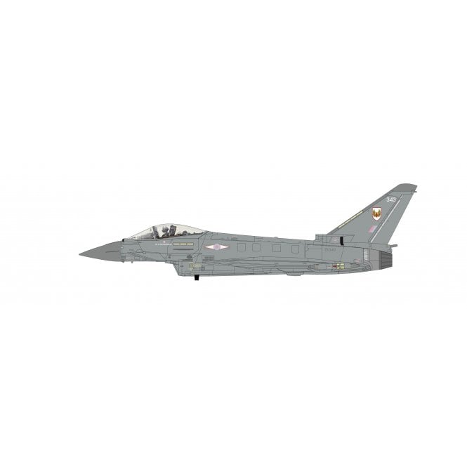 Hobby Master 1:72 Eurofighter Typhoon FGR4 ZK343, 1(F) Sqn, RAF Lossiemouth, 2020
