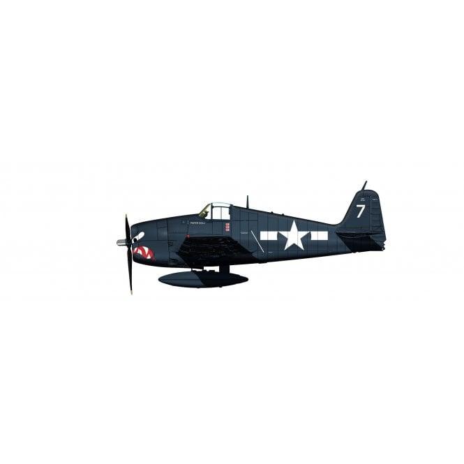 """Hobby Master 1:32 Grumman F6F-5 """"Paper Doll"""" VF-27, USS Princeton (CVL-23), October 1944"""