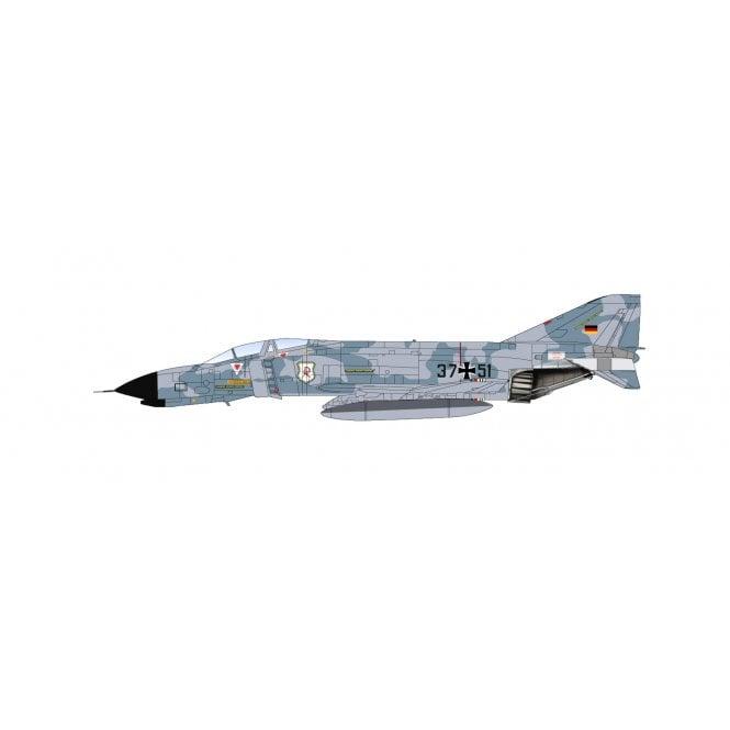 """Hobby Master 1:72 F-4F Phantom """"Experimental Schema Wolkenmaus"""" 37+51, JG 71 """"Richthofen"""", Germany 1976"""