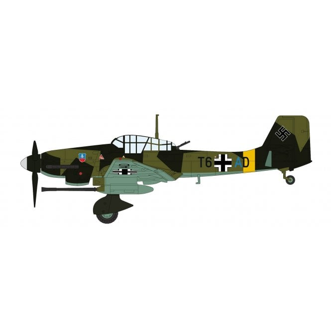 """Hobby Master 1:72 Junkers Ju 87G-1 """"Stuka"""" T6+AD, Eastern Front, WWII"""