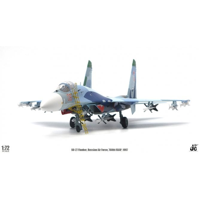 JC Wings 1:72 Su-27 Flanker Russian Air Force, 760th ISIAP, Lipetsk 1997