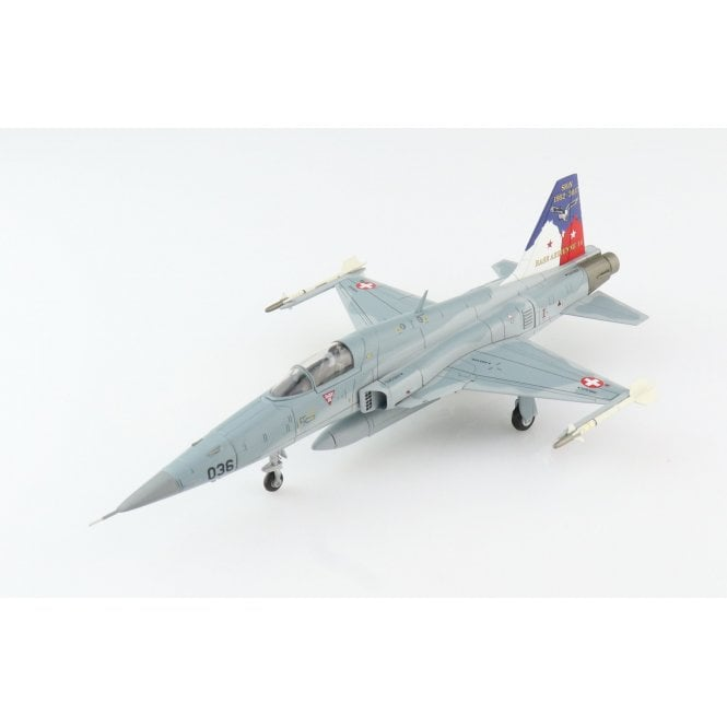 """Hobby Master 1:72 F-5E Tiger II """"Sion iger"""" 036, Fliegerstaffel 19, Sion Air Base Closure, 2017"""