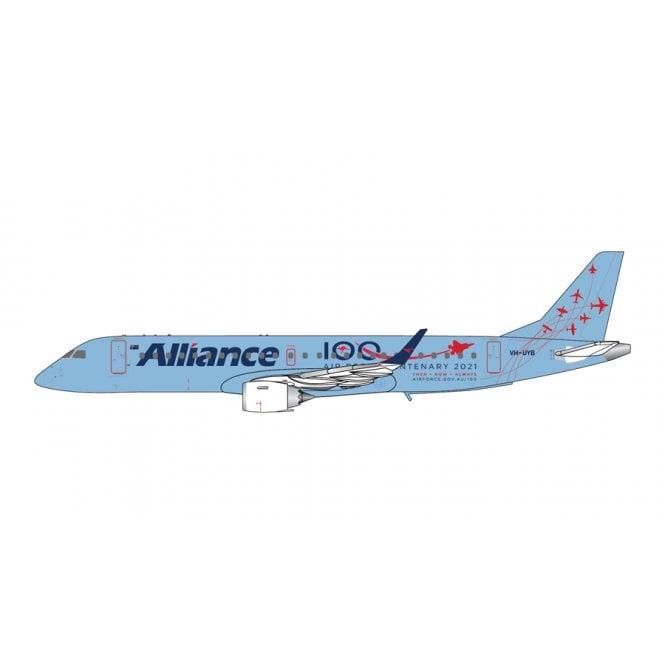 Gemini Jets 1:400 E190 Alliance Airlines ' Air Force Centenary 2021 ' Reg - VH-UYB