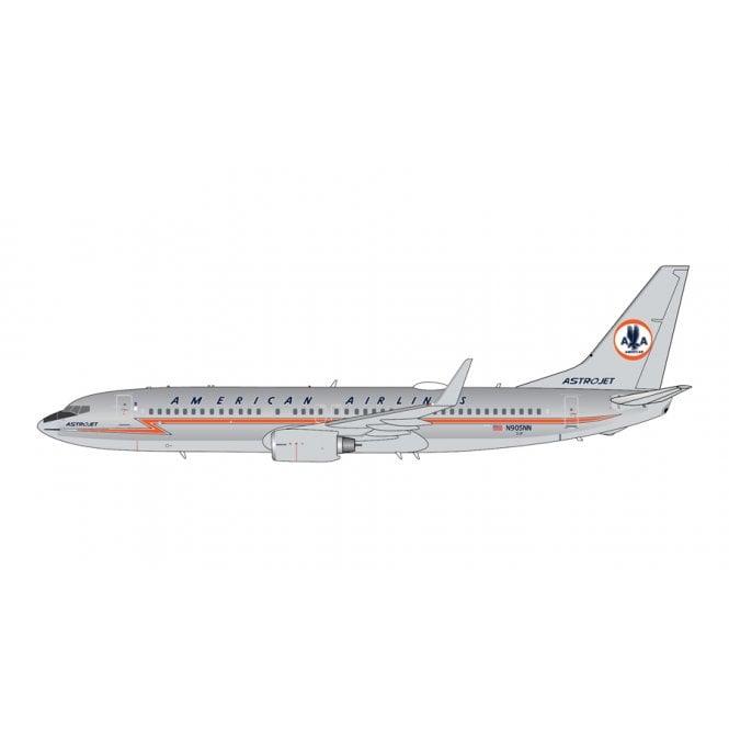 Gemini Jets 1:400 Boeing B737-800 American Airlines ' Astrojet ' Polished Reg - N905NN