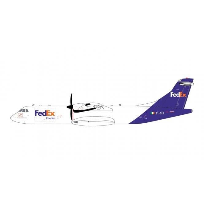 Gemini Jets 1:400 ATR-72-600F Fedex Feeder Reg - EI-GUL
