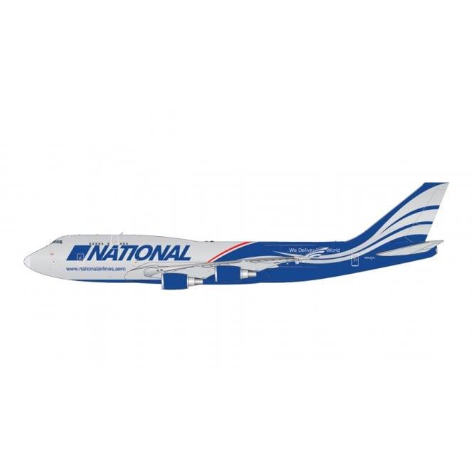Gemini Jets 1:400 Boeing B747-400BCF National Airlines Reg - N592CA