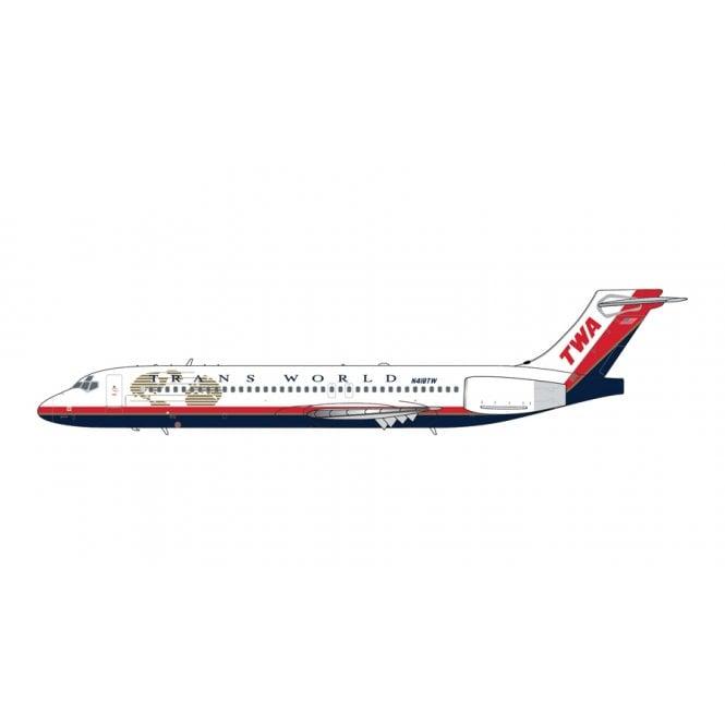 Gemini Jets 1:400 Boeing B717-200 Trans World Airlines - Reg - N418TW