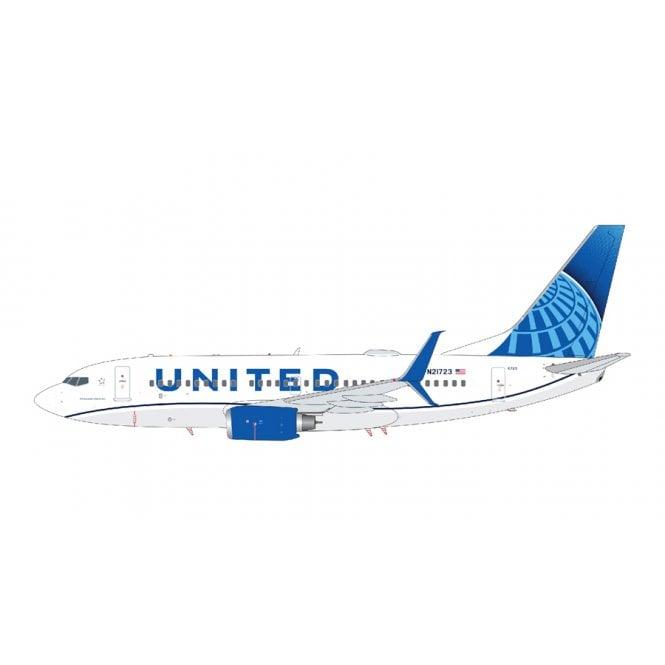 Gemini Jets 1:200 Boeing B737-700 United Airlines ' New Livery ' Reg - N21723