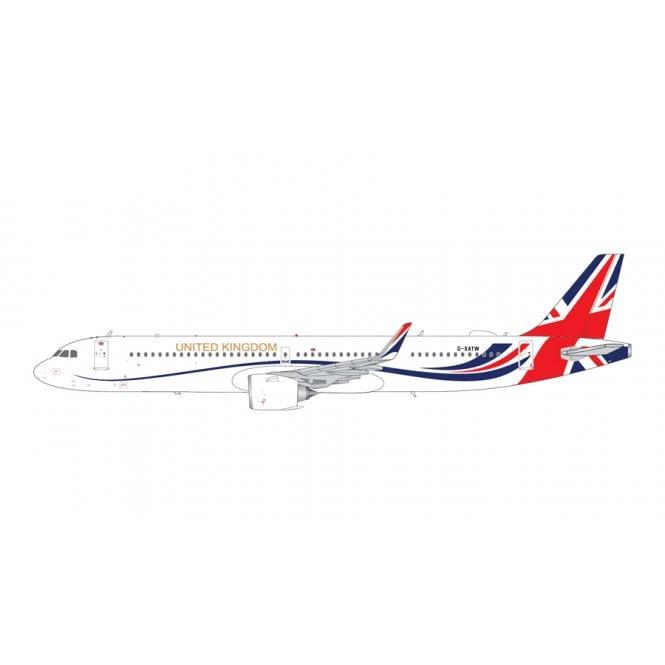 Gemini Jets 1:200 Airbus A321neo RAF ' United Kingdom ' - Reg - G-XATW