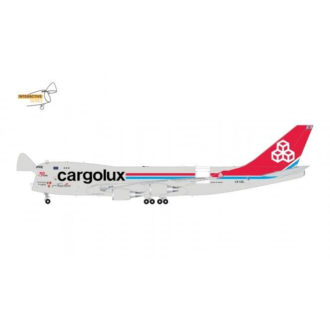 Gemini Jets 1:200 Boeing B747-400ERF Cargolux Reg - LX-LXL (Optional Doors Open/Closed Configuration)