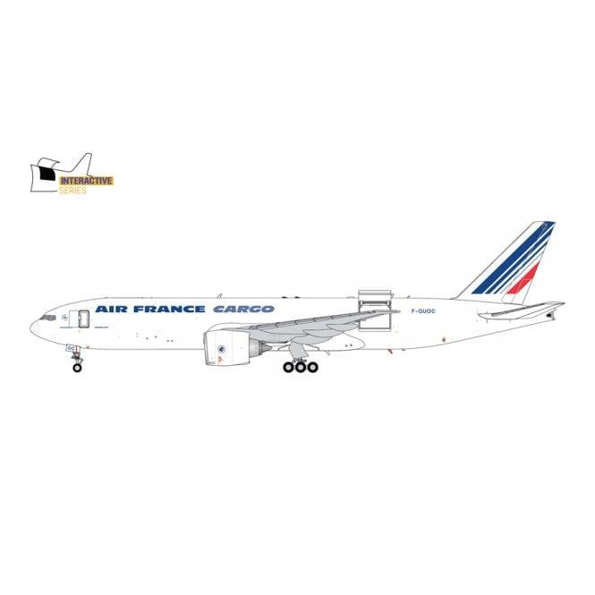 Gemini Jets COPY - 1:200 Boeing B777LRF Air France Cargo Reg - F-GUOC (Interactive Series)