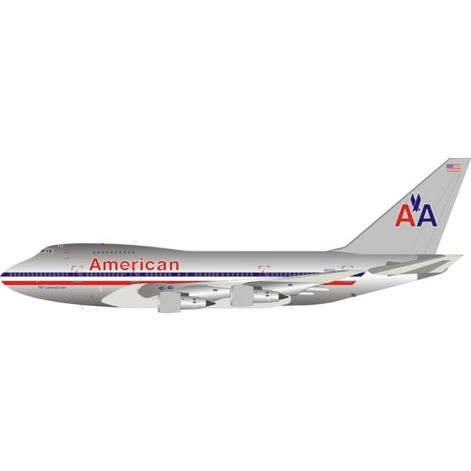 InFlight 200 Boeing 747SP-31 American Airlines (Polished) Reg - N601AA - 1:200 Scale