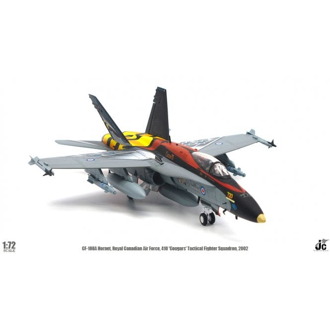 JC Wings 1:72 CF-188 Hornet, RCAF, 410 ' Cougars ' Tactical Fighter Sqn. 2002
