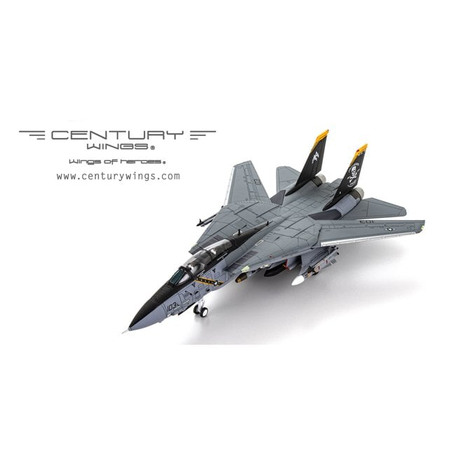 """Century Wings 1:72 F-14B Tomcat U.S.Navy 103 Jolly Rogers AA103 2004  """"JOLLY ROGERS 60th Anniversay Special Livery"""