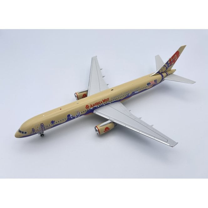 Gemini Jets 1:200 Boeing B757-200 America West Airlines ' Teamwork Coast to Coast ' Reg - N902AW