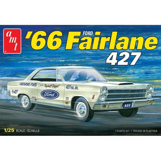 AMT 1:25 1966 Ford Fairline 427 Car Model Kit