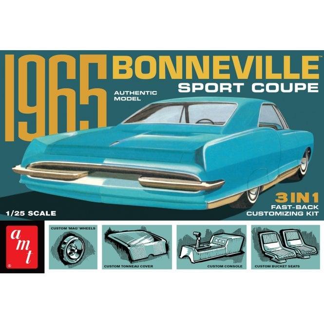 AMT 1:25 1965 Pontiac Bonneville Car Model Kit