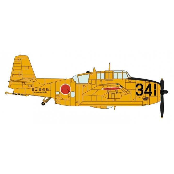 Hasegawa 1:72 TBM-3S2 Avenger - J.M.S.D.F. 3rd Service School Aircraft Model Kit