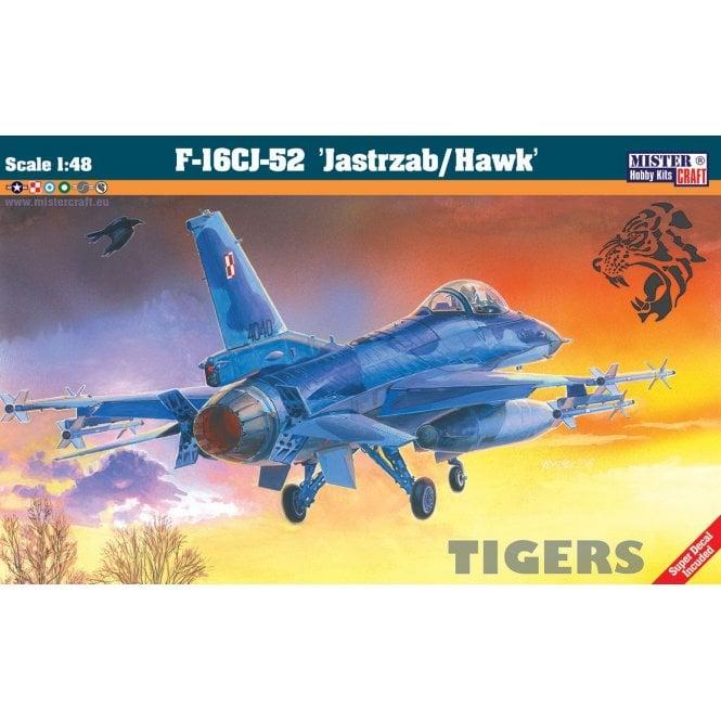 Mistercraft 1:48 F-16A Block 52+ Jastrzab Hawk Aviation Kit