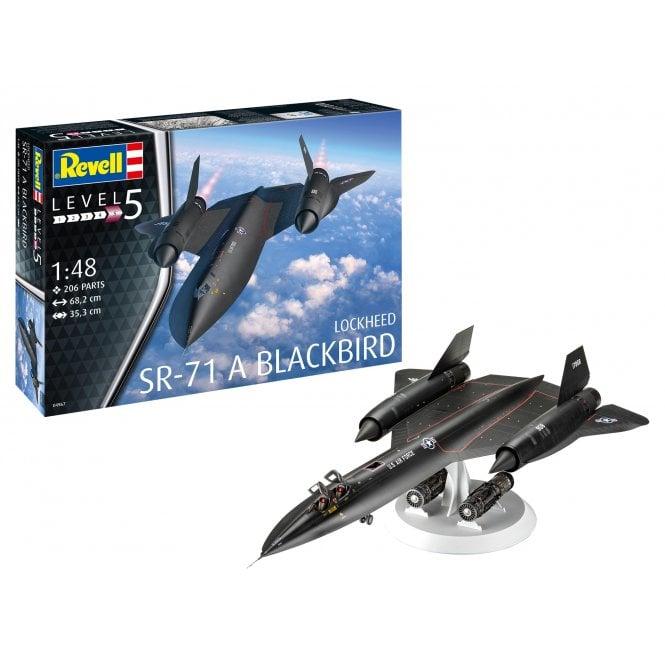 Revell 1:48 Lockheed SR-71 Blackbird Aircraft Model Kit
