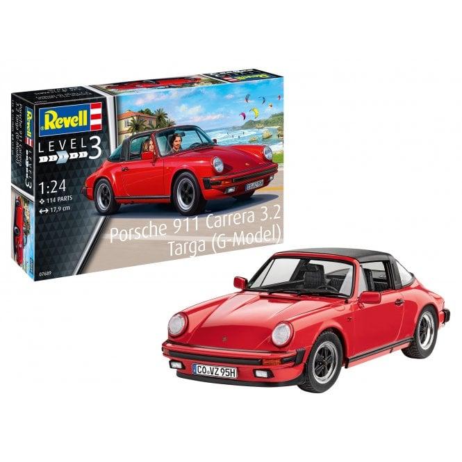 Revell 1:24 Porsche 911 G Model Targa Car Model Kit