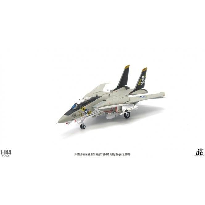 JC Wings 1:144 F-14A Tomcat US Navy, Jolly Rogers VF-84 1979