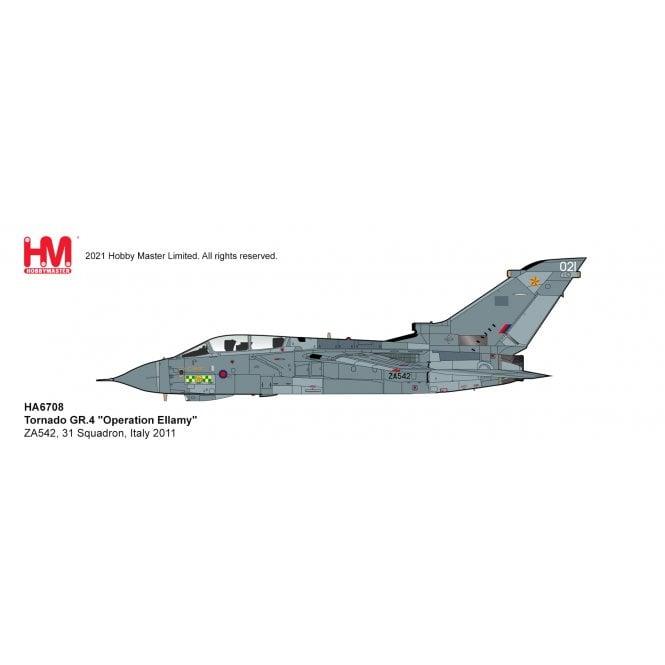 "Hobby Master 1:72 Tornado GR.4 ""Operation Ellamy"" ZA542, 31 Squadron, Italy 2011"