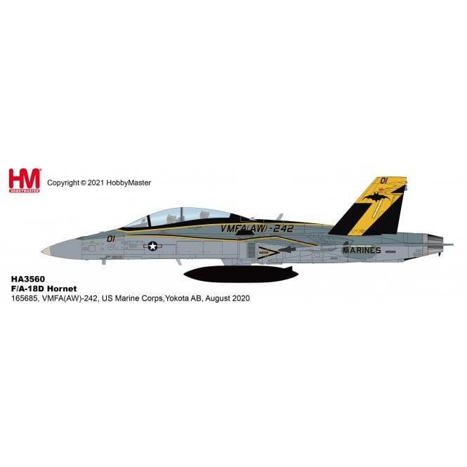 Hobby Master 1:72 F/A-18D Hornet 165685, VMFA(AW)-242, US Marine Corps, Yokota AB, August 2020
