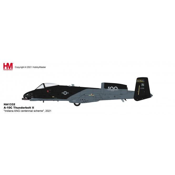 "Hobby Master 1:72 A-10C Thunderbolt II ""Indiana ANG centennial scheme"" 2021"