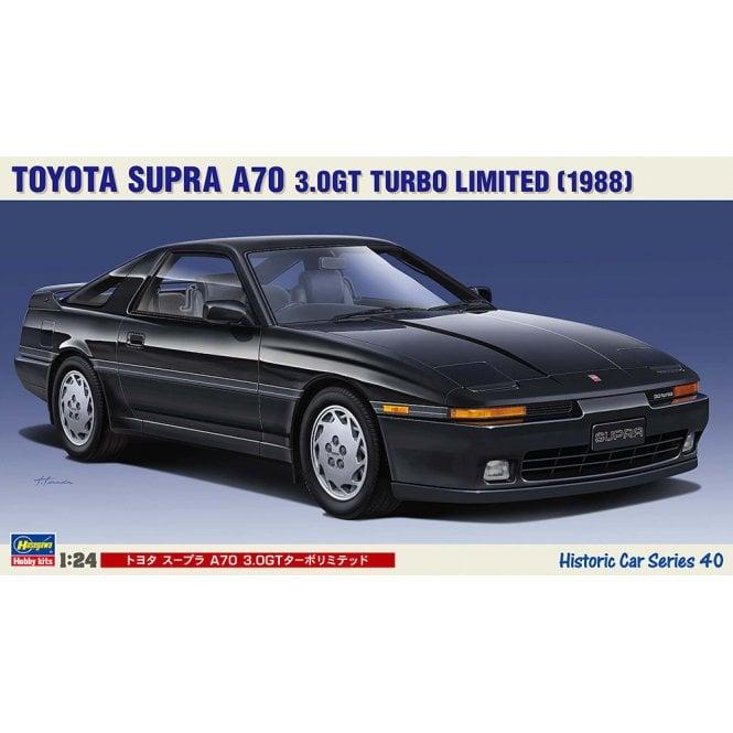 Hasegawa 1:24 Toyota Supra A70 3.0GT Turbo Limited Car Model Kit